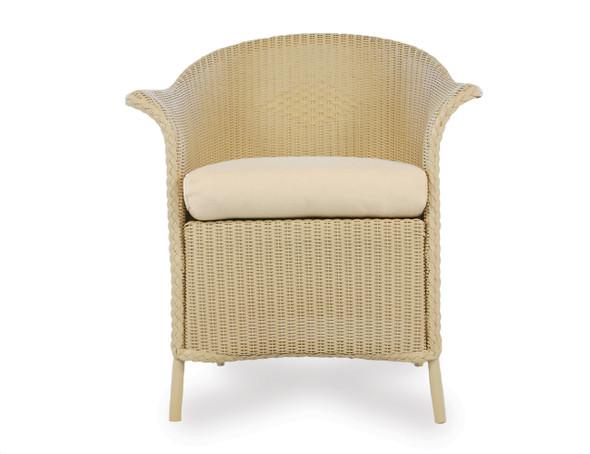 Universal Loom Dining Armchair 1x1 Weave  By Lloyd Flanders