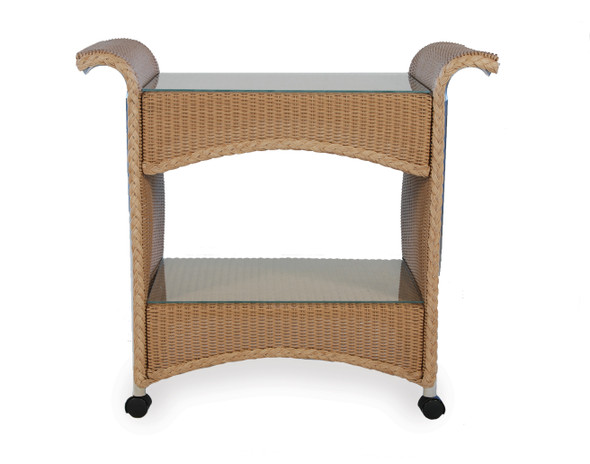 Universal Loom Castered Bar Cart by Lloyd Flanders