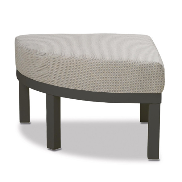 Larssen Cushion Collection Backless Curved Corner Section By Telescope