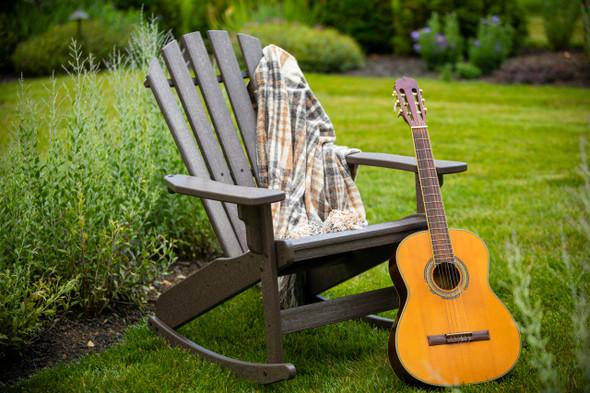 Breezesta Coastal Adirondack Rocker Chair