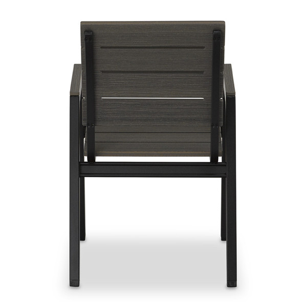 Bazza Bench MGP Stacking Bistro Chair By Telescope