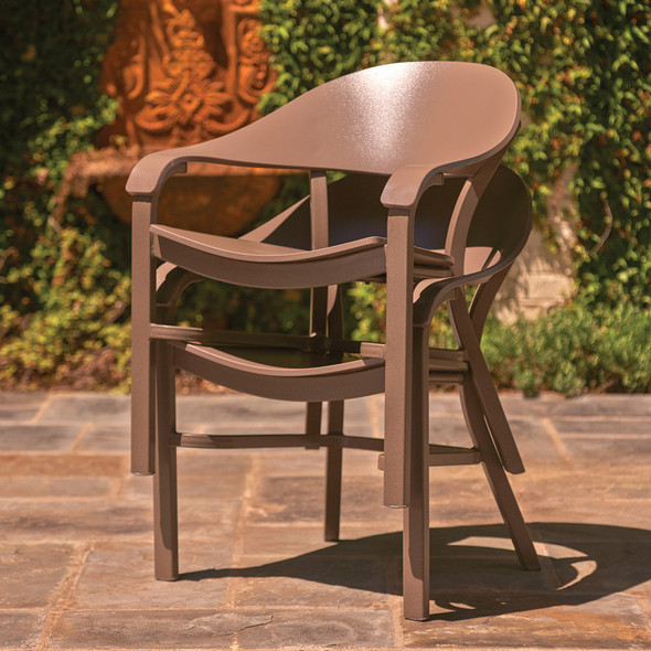 Jet Set MGP Dining Height Arm Chair By Telescope