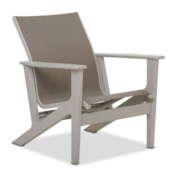 Wexler MGP Sling  Chat Height Arm Chair By Telescope