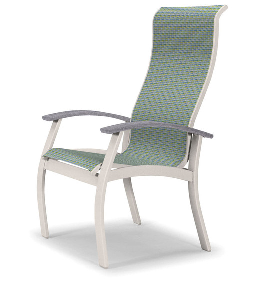 Belle Isle Sling Supreme Arm Chair By Telescope