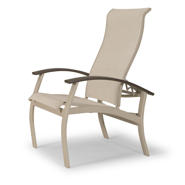 Belle Isle Sling Multi-Position Dining Chair By Telescope
