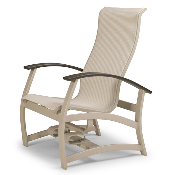 Belle Isle Sling Hidden Motion Chat Chair By Telescope
