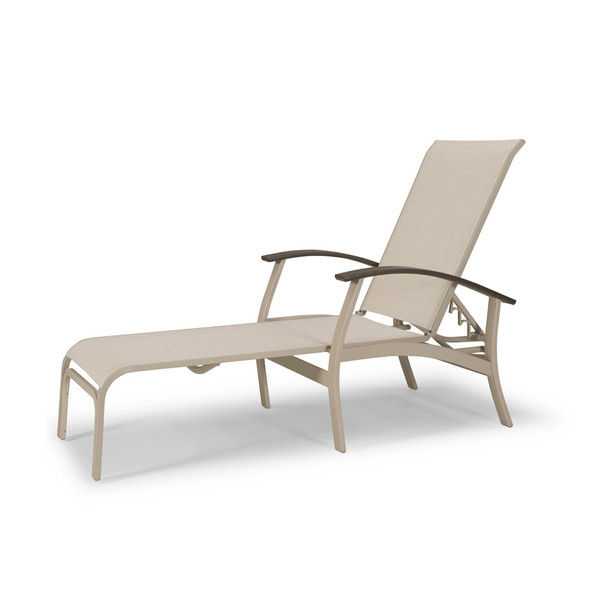 Belle Isle Sling Four Position Lay-flat Chaise By Telescope