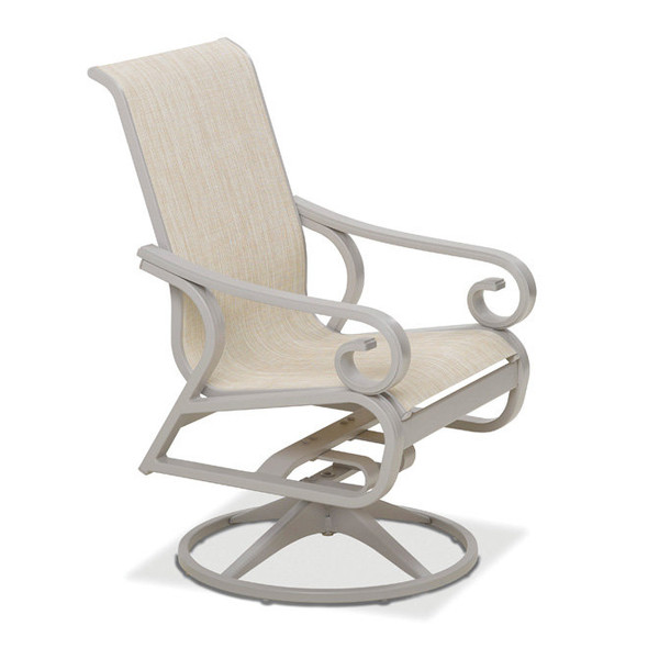 Charleston Sling Supreme Swivel Rocker By Telescope