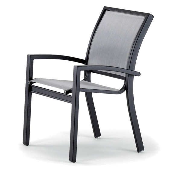 Kendall Sling Stacking Chat Height Chair By Telescope