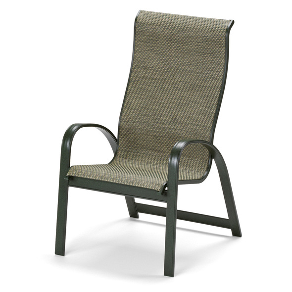Primera Sling Supreme Stacking Arm Chair By Telescope