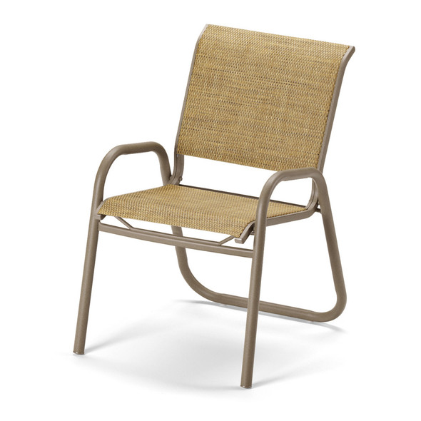 Gardenella Sling Stacking Cafe Chair By Telescope