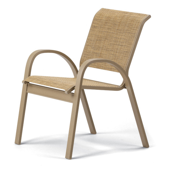 Aruba Sling Stacking Café Chair By Telescope