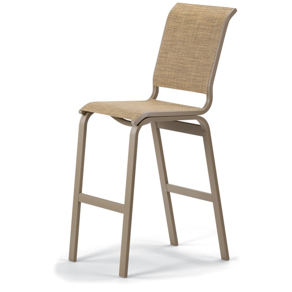 Aruba Sling Bar Height Armless Cafe Chair  Chair By Telescope