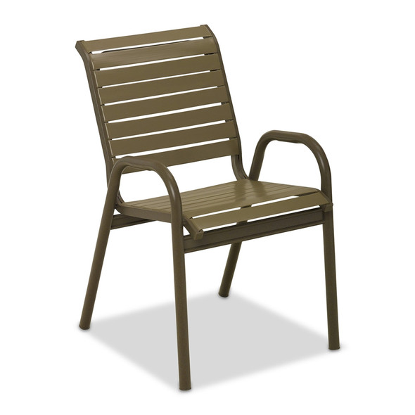 Reliance Contract Strap Stacking Bistro Chair By Telescope