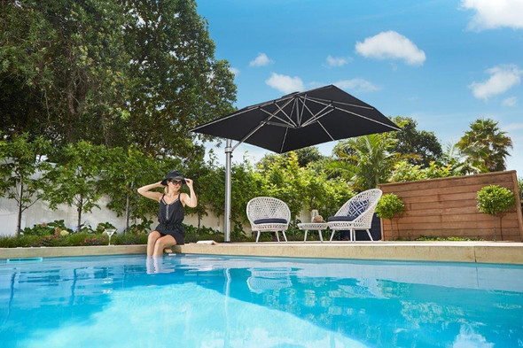 Eclipse Premium 10F Cantilever Umbrella by Frankford