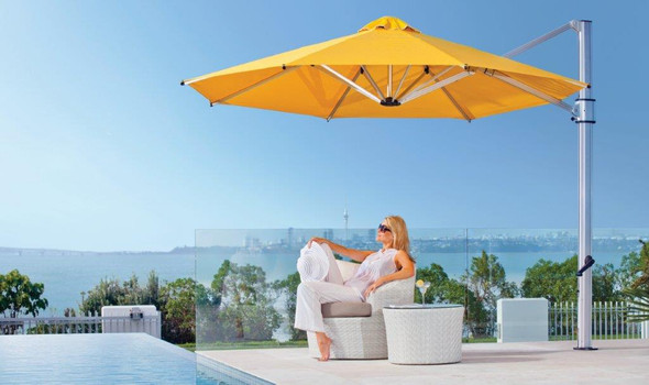 Eclipse Premium 13F Cantilever Umbrella by Frankford