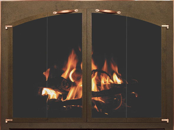 Bar Iron Fireplace Custom Door By Stoll Industries