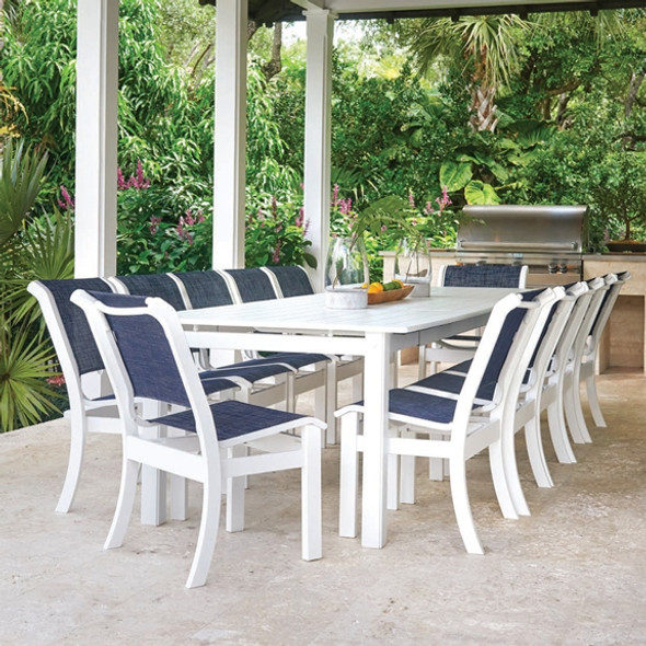 Telescope Casual Leeward MGP Big Outdoor Dining Set for 12