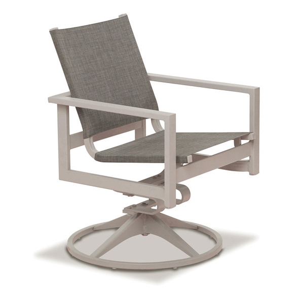 Tribeca Sling Modern Outdoor Fire Table Set By Telescope Casual