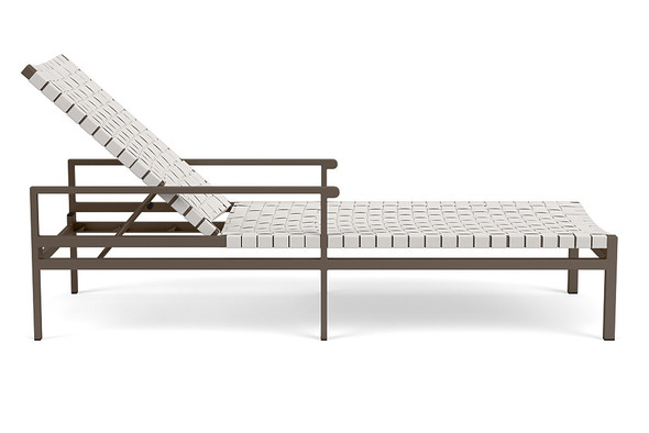 Flex Flat Adjustable Chaise By Brown Jordan