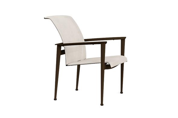Flight Sling Stacking Arm Chair By Brown Jordan