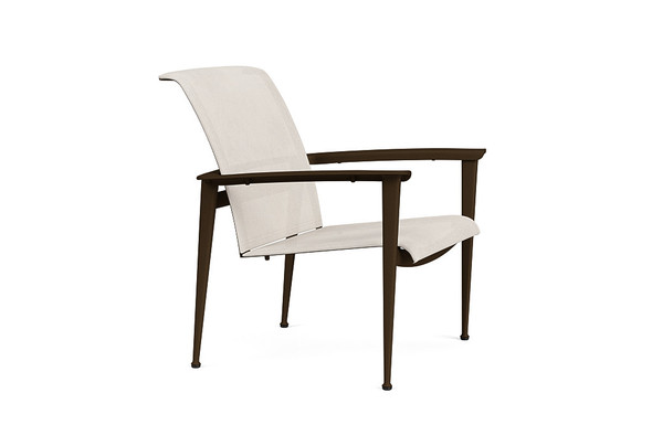 Fight Sling Stacking Lounge Chair By Brown Jordan