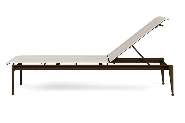 Flight Sling Stacking Flat Adjustable Chaise without arms By Brown Jordan