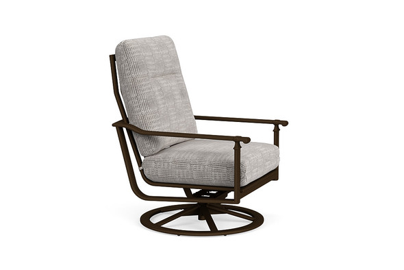 Fremont Cushion Swivel Motion Lounge Chair By Brown Jordan