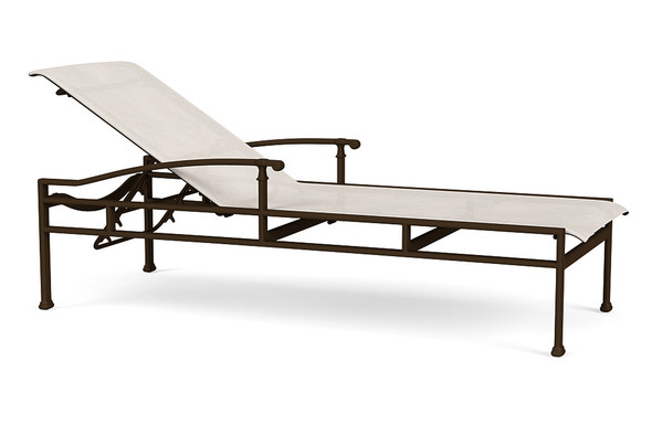 Fremont Sling Adjustable Chaise By Brown Jordan