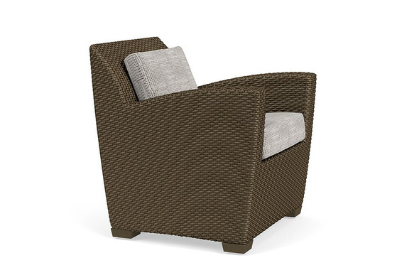 Fusion Lounge Chair - Pillow Back  By Brown Jordan