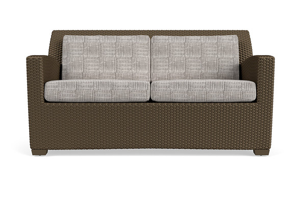 Fusion Loveseat - Slim Back By Brown Jordan