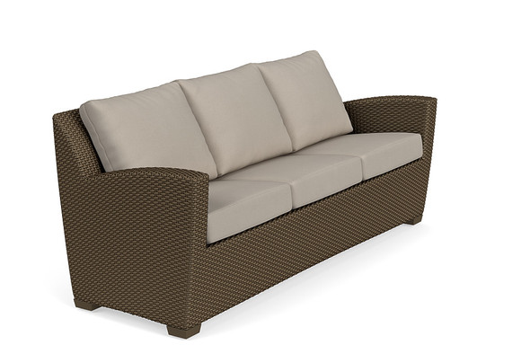 Fusion Sofa - Pillow Back By Brown Jordan