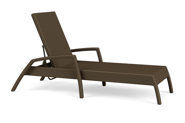 Fusion Stacking Flat Adjustable Chaise By Brown Jordan