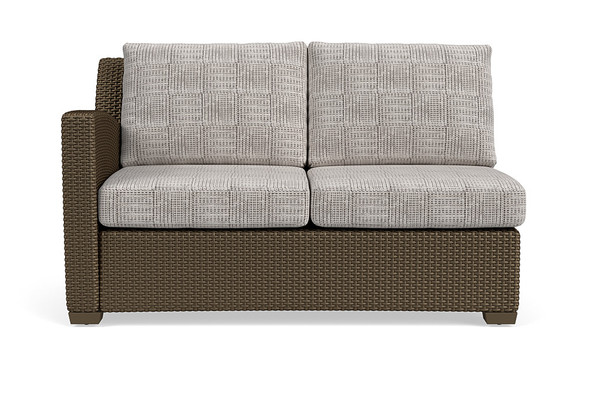 Fusion Sectional  Left Arm Loveseat By Brown Jordan