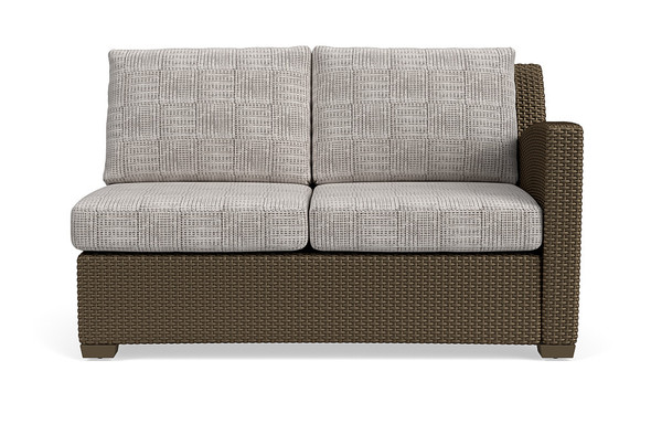 Fusion Sectional  Right Arm Loveseat By Brown Jordan