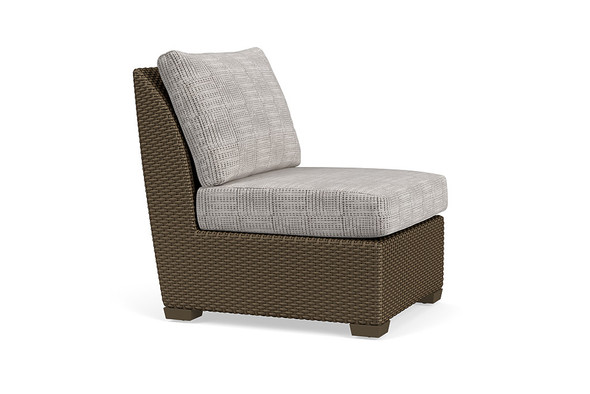 Fusion Sectional  Center Armless Chair By Brown Jordan