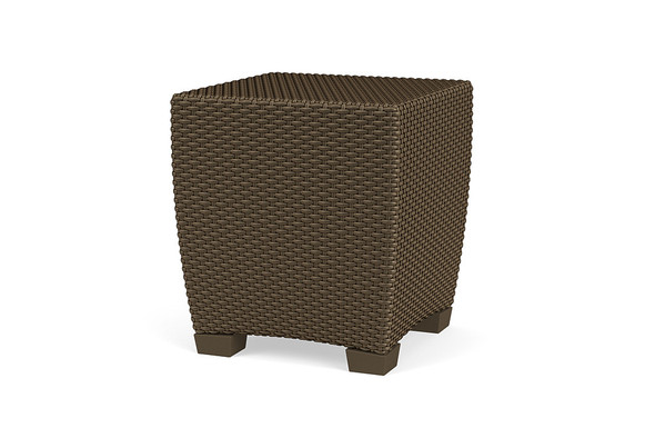 "Fusion 19"" Square Woven Occasional Table By Brown Jordan"
