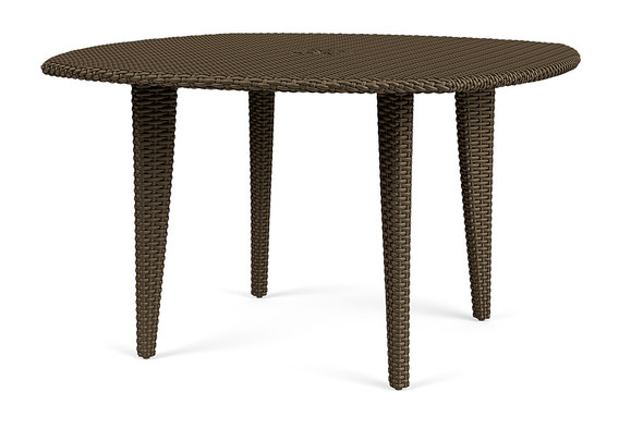 "Fusion 48""  Woven Dining Umbrella Table By Brown Jordan"