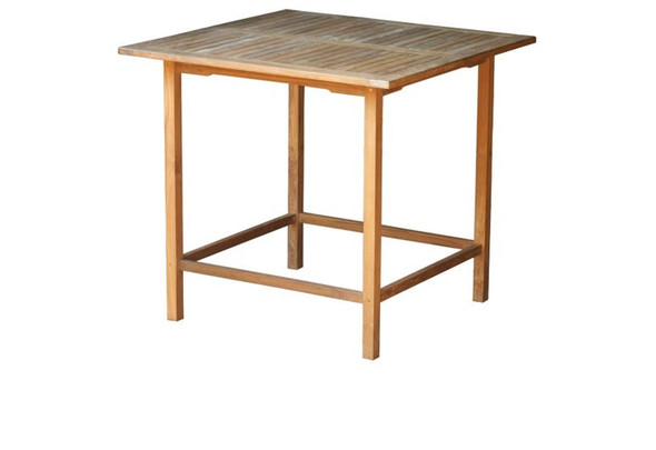 "Teak Square Bar Table 40"" by Classic Teak"