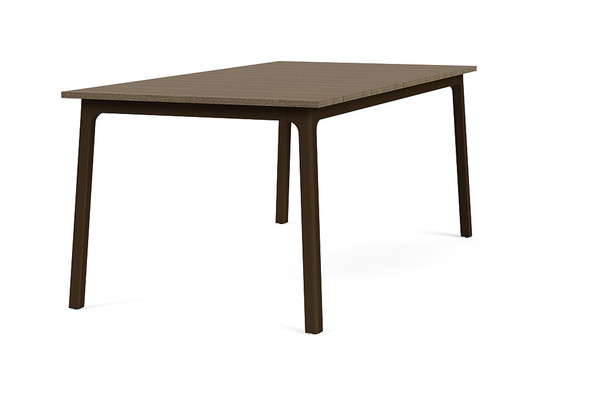 "Adapt 36""x72"" Rectangle  Driftwood Dining Table  By Brown Jordan"