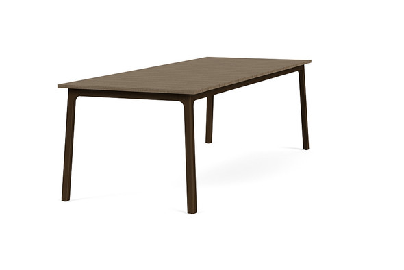 "Adapt 36""x96"" Rectangle  Driftwood Dining Table  By Brown Jordan"