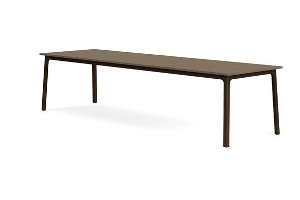 "Adapt 36""x120"" Rectangle  Driftwood Dining Table  By Brown Jordan"