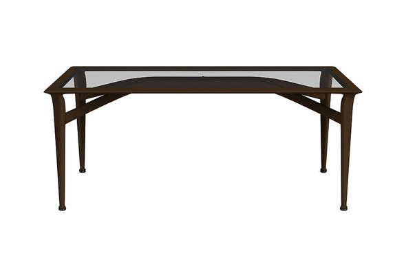 "28""x45"" Coffee Table By Brown Jordan"