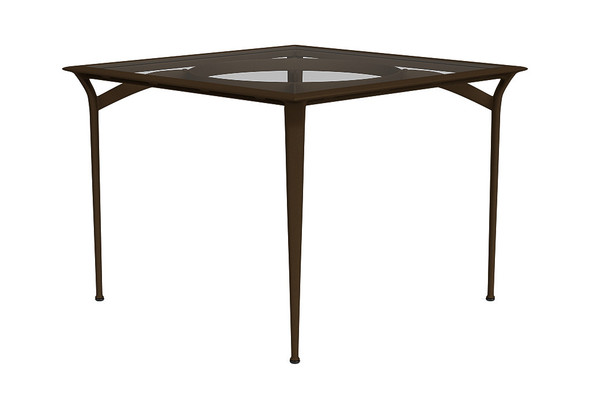 """36"""" Square Dining Table  By Brown Jordan"""