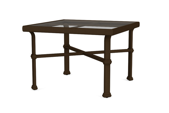 "Fremont 26"" Square Occasional Table By Brown Jordan"