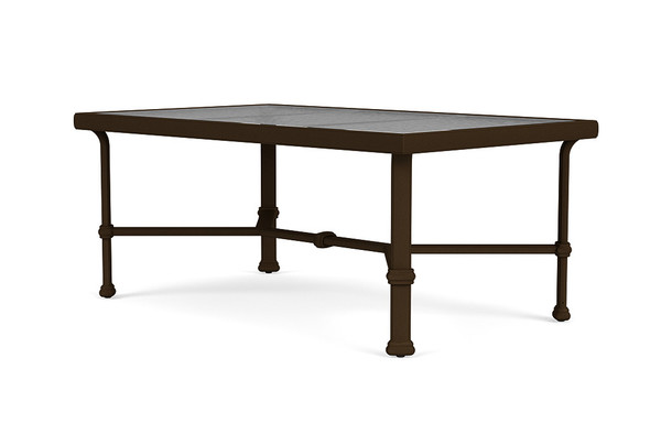 "Fremont 26""x43"" Coffee Table By Brown Jordan"