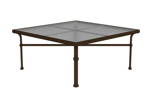 """Fremont 44"""" Square Chat Table By Brown Jordan"""
