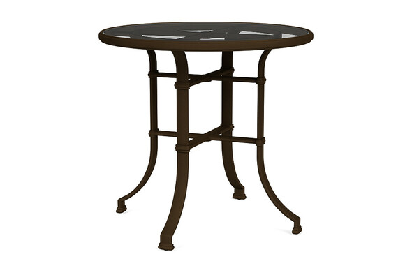 "Fremont 42"" Round Bar Table  By Brown Jordan"