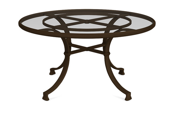 "Fremont 54"" Round Dining Table  By Brown Jordan"