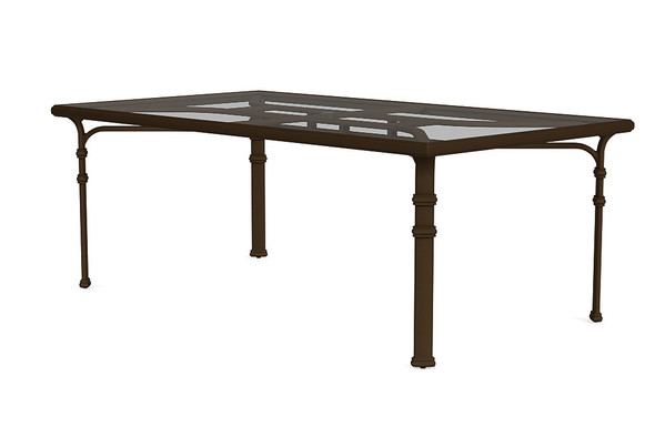 """Fremont 44""""x78"""" Rectangle Dining Table By Brown Jordan"""